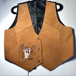 Looney Tunes Tasmanian Devil V-neck Vest 🌪